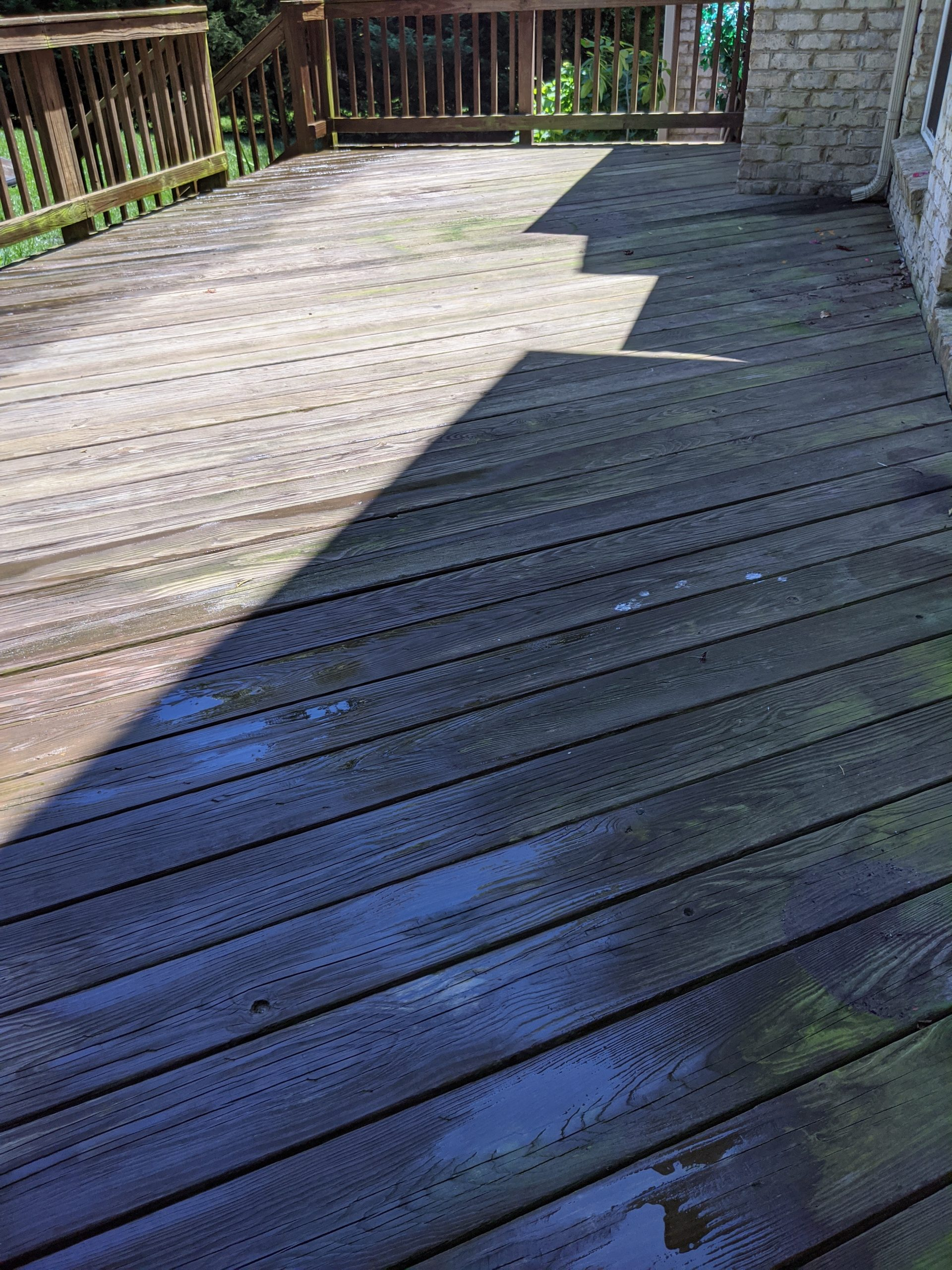 Fort Mill SC Deck Pressure Washing and Deck Staining