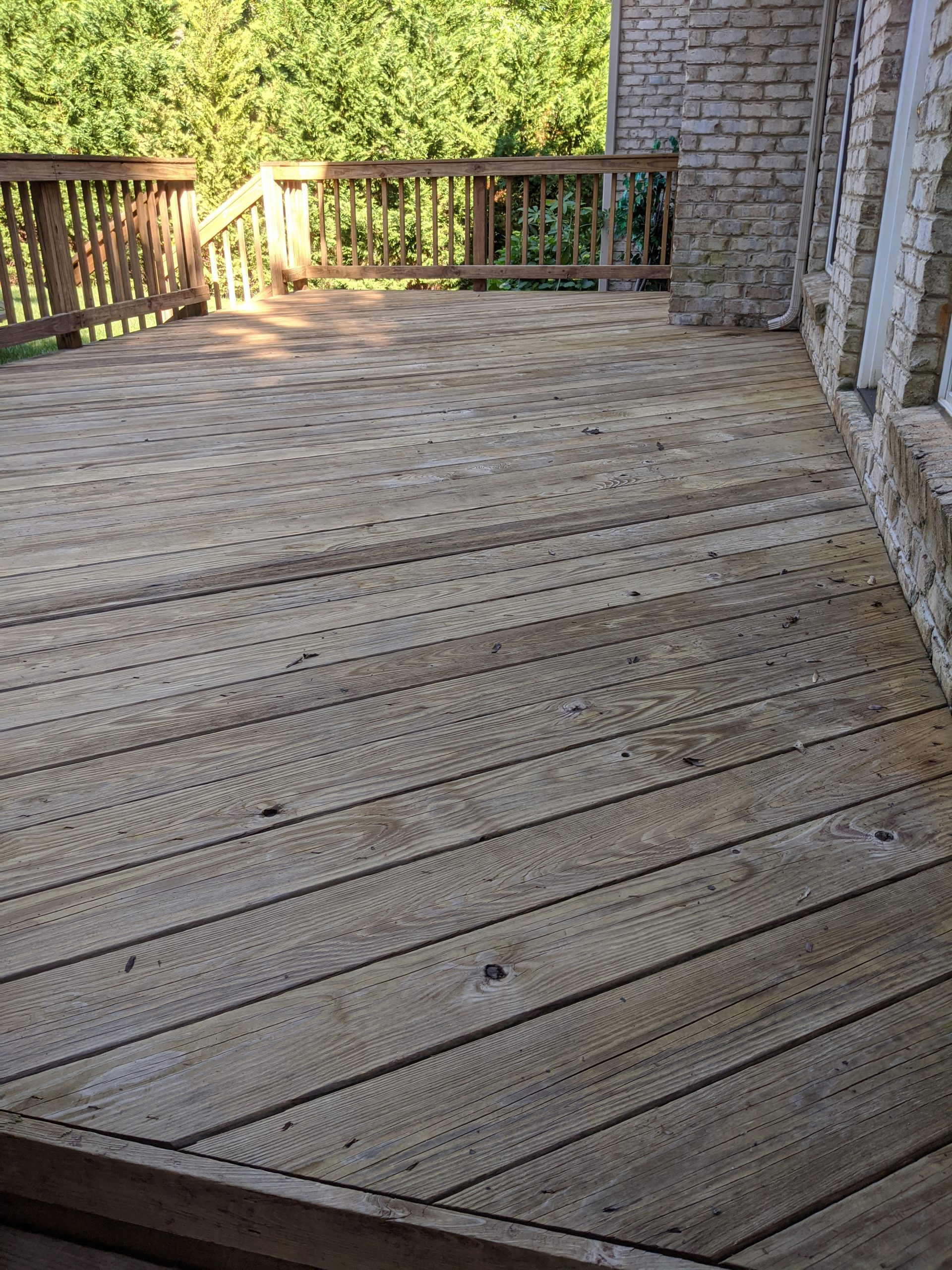 Fort Mill SC Deck Cleaning