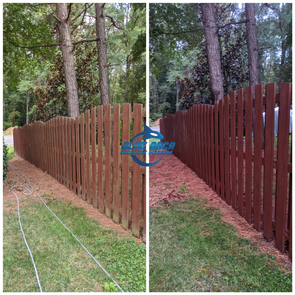 Fence and Deck Cleaning Blue Orca Pressure Washing, LLC