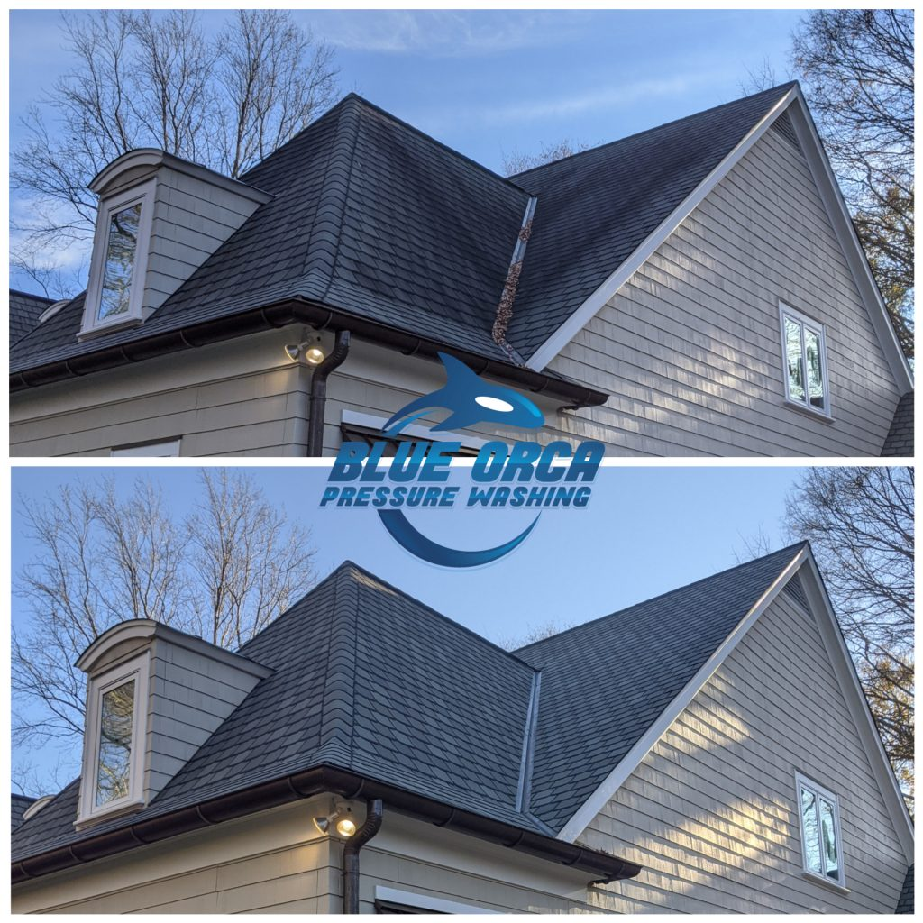 Roof Cleaning in Charlotte NC